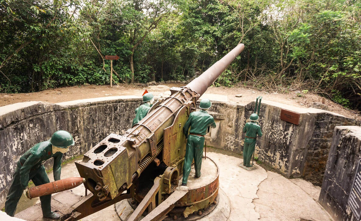 Cannon Fort - Things to do in Cat Ba