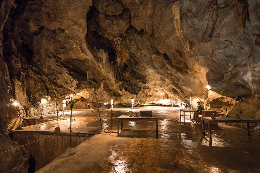 Hospital Cave - Things to do in Cat Ba