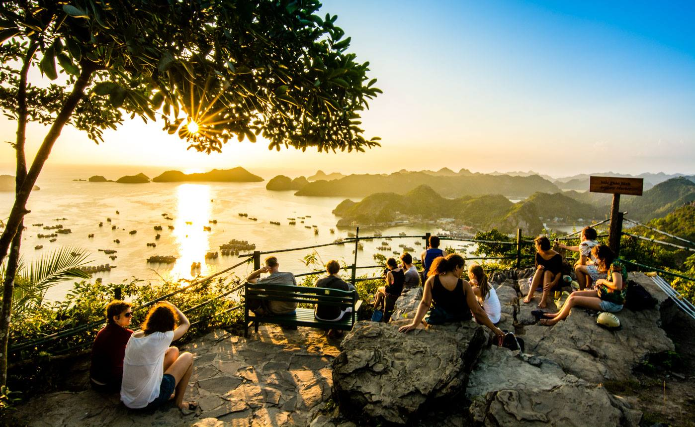 Sunset at Cannon Fort - Things to do in Cat Ba