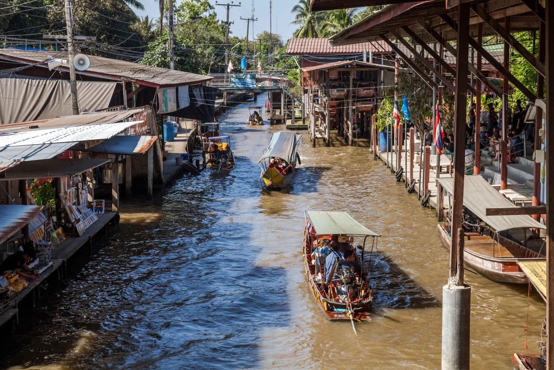 Damnern Saduak market - Thailand in 15 days