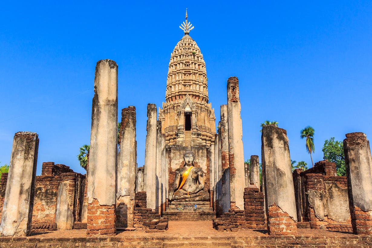 Sukhothai Historical Park - Thailand on A 15-day Journey