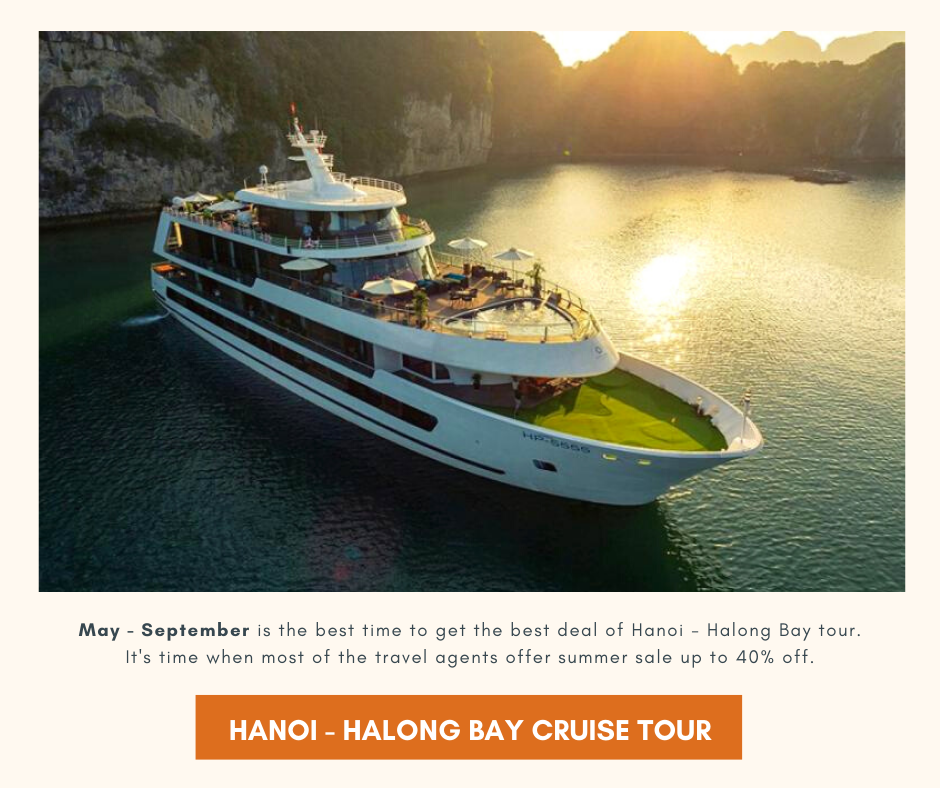Best time to get the best Hanoi - Halong Bay tour