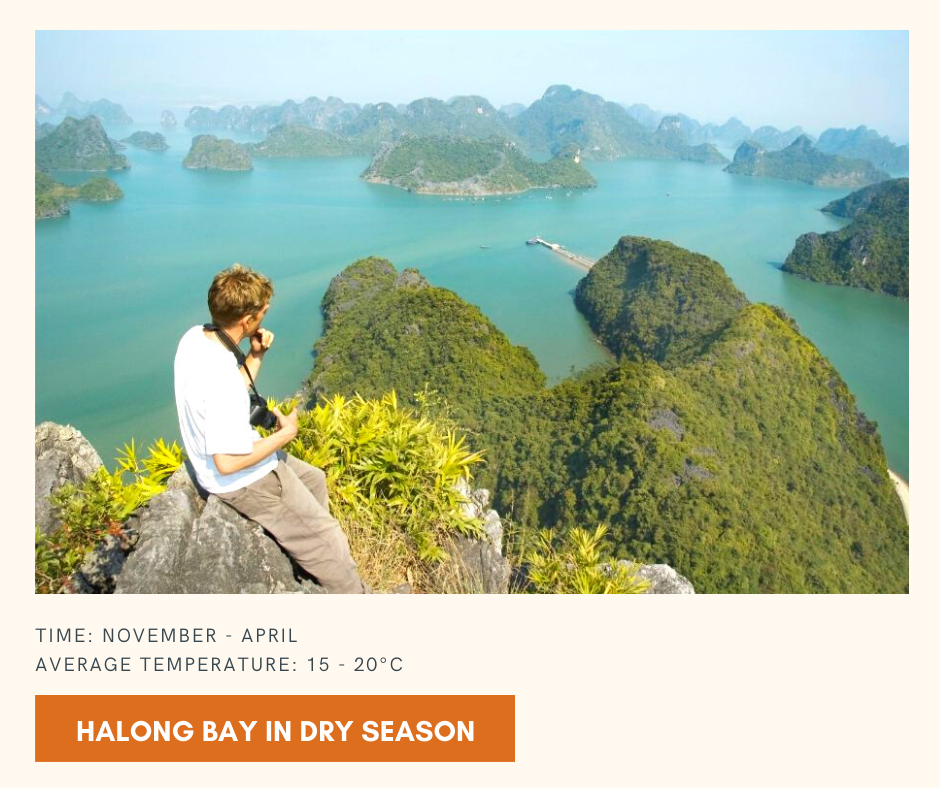 Best season to go to Hanoi and Halong