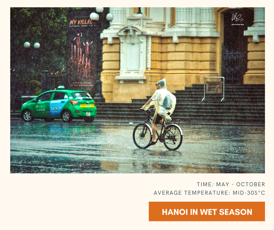 Visit Hanoi and Halong in wet season