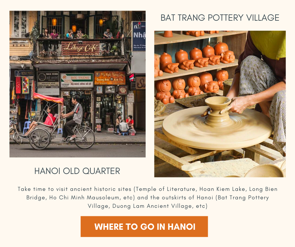 Where to visit in Hanoi