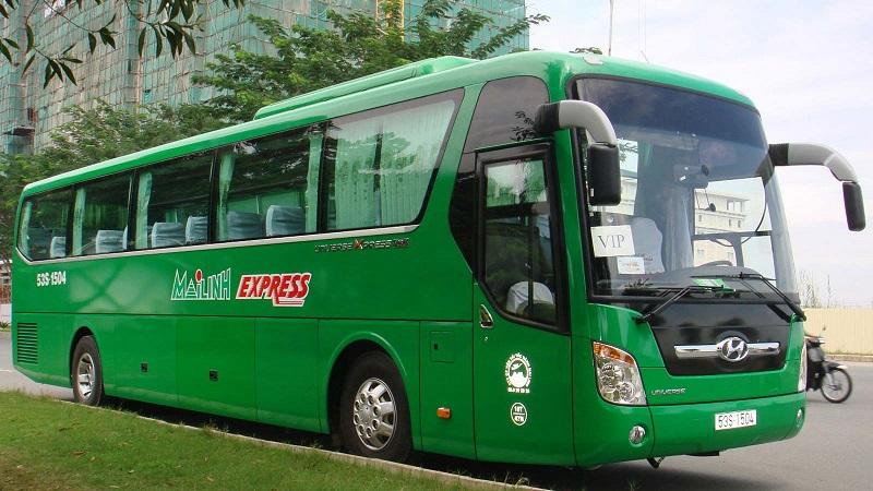 Mai Linh bus from Vietnam to laos