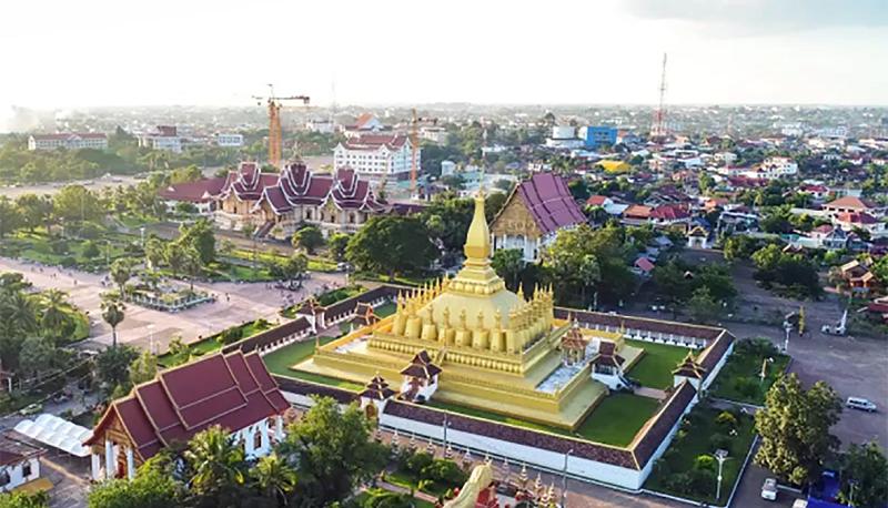 Bus Vietnam to Laos Vientiane