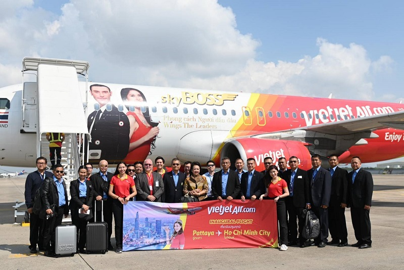 Pattaya International Airport Vietjet air