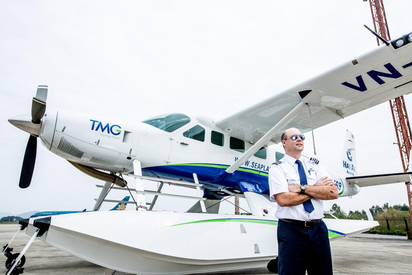 Hanoi to Halong Bay seaplane