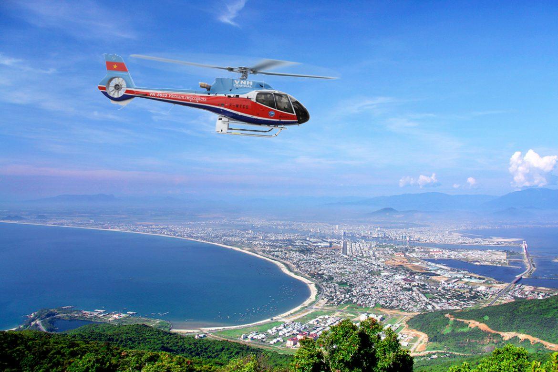 Hanoi to Halong Bay flight - Helicopter