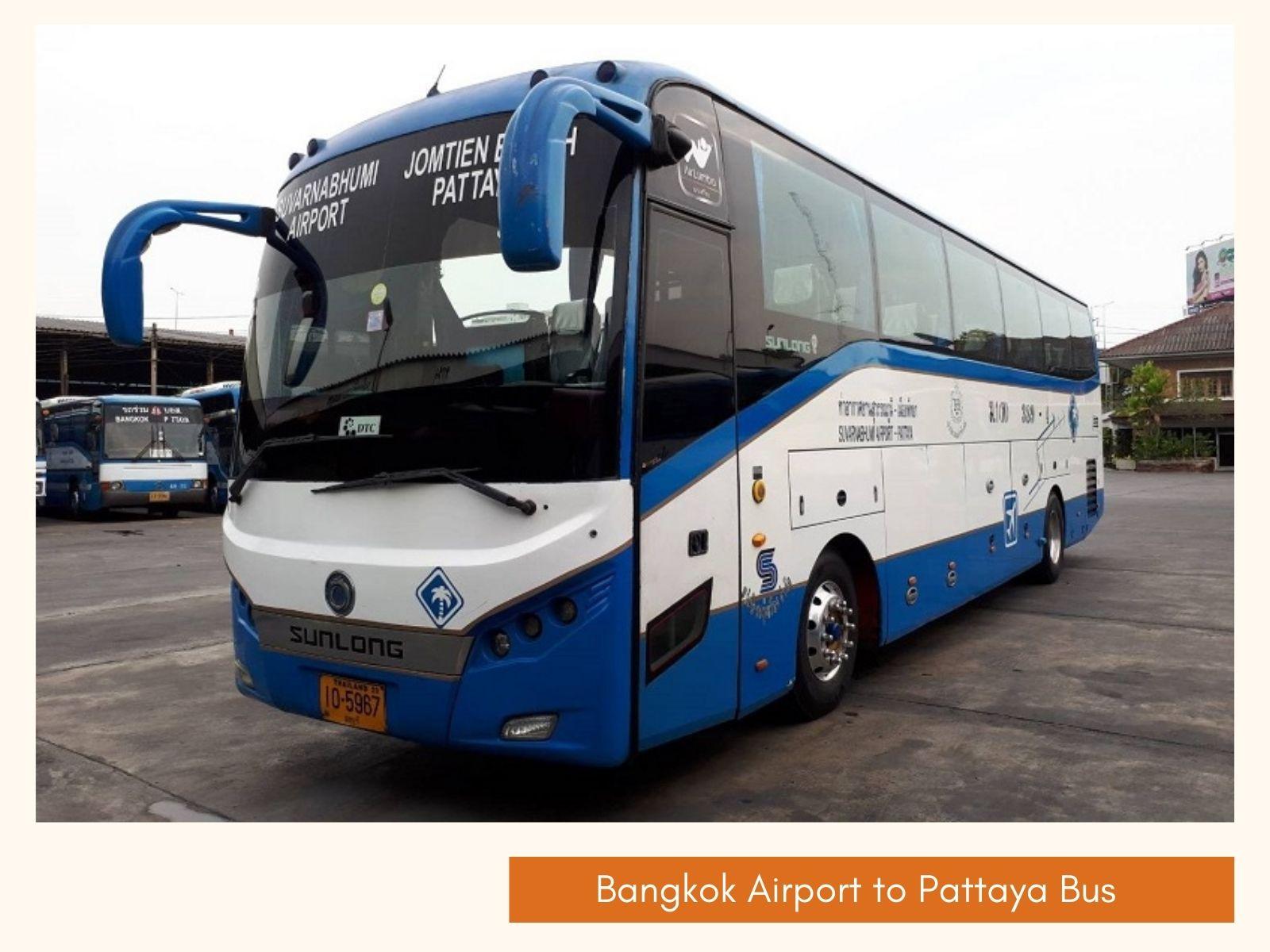 Best way to travel from Bangkok Airport to Pattaya