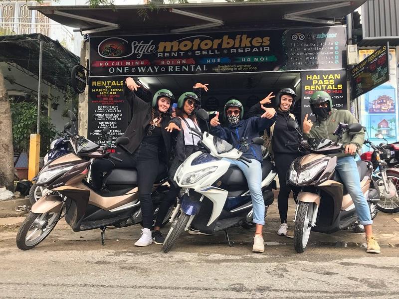 style motorbike
