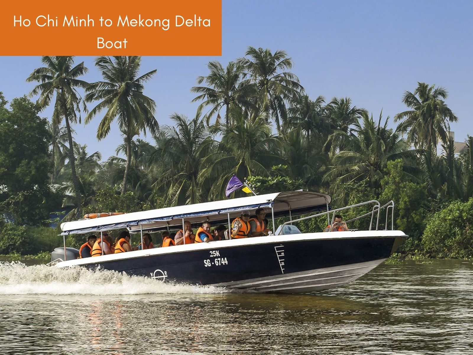 Ho Chi Minh to Mekong Delta Boat tour