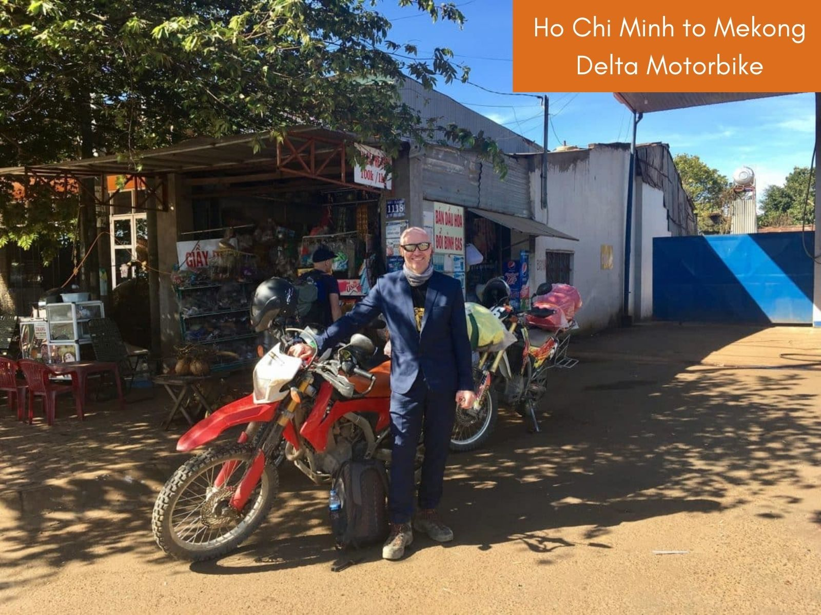 Ho Chi Minh to Mekong Delta by motorbike
