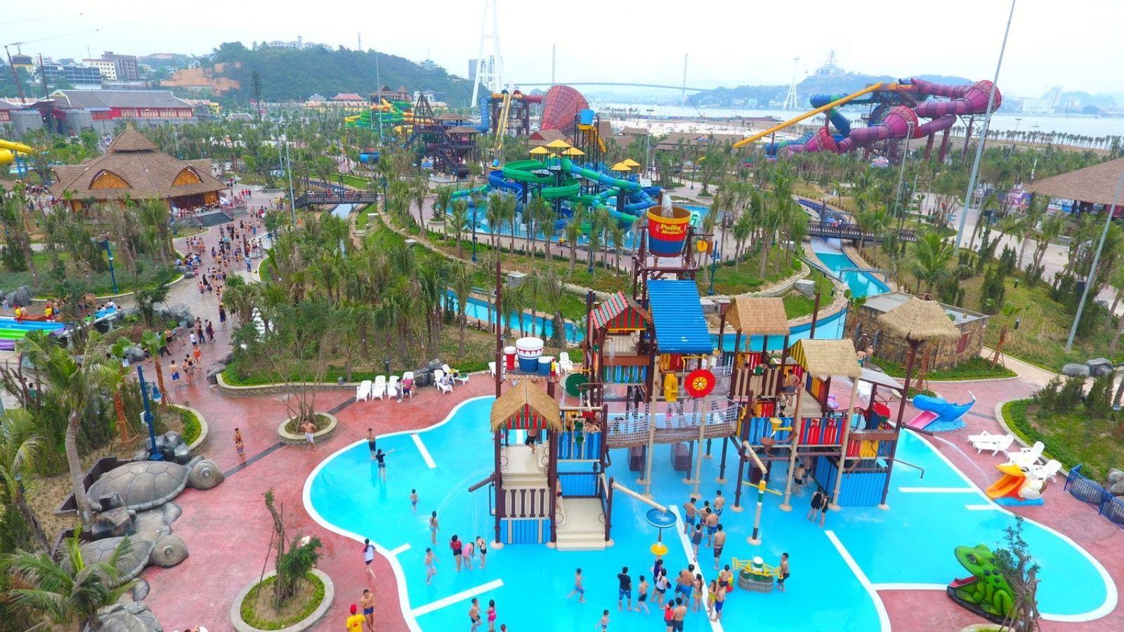 Halong Bay water park