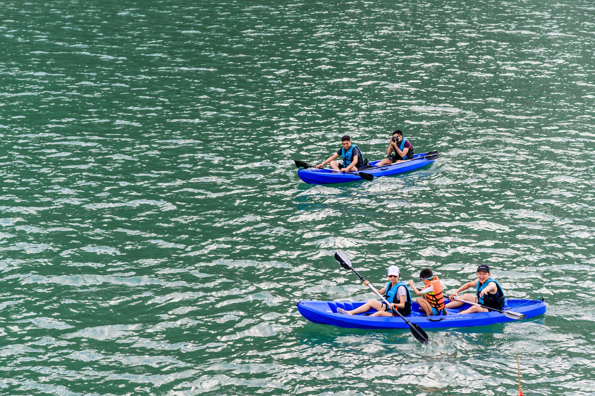 Kayak in Ao Ech area