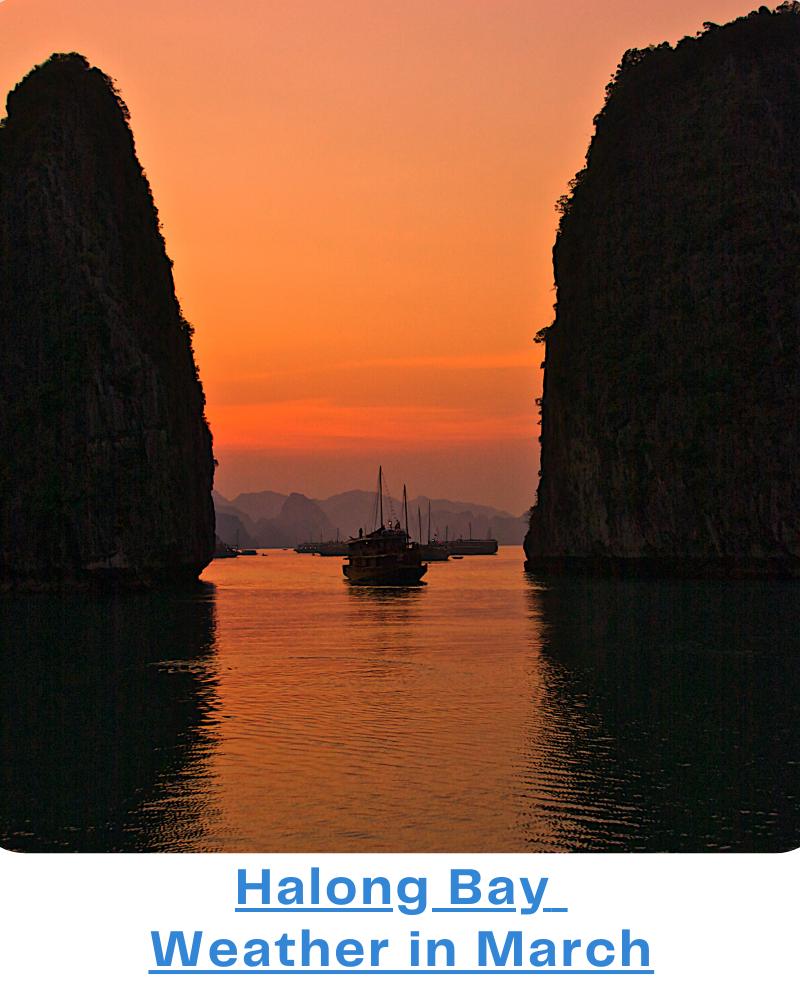 Halong Bay weather Mar