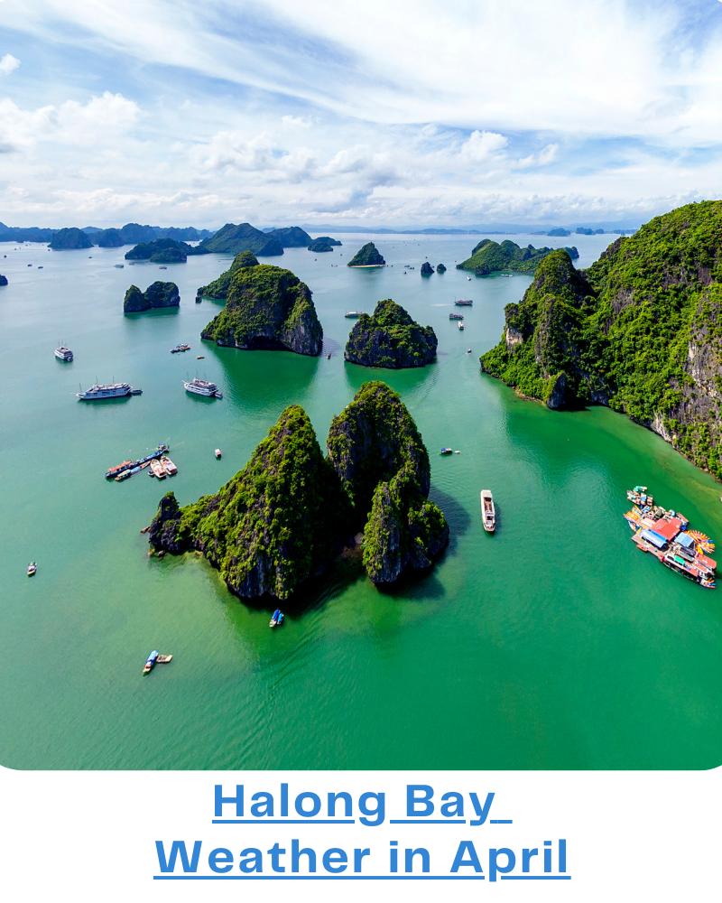 Halong Bay weather april