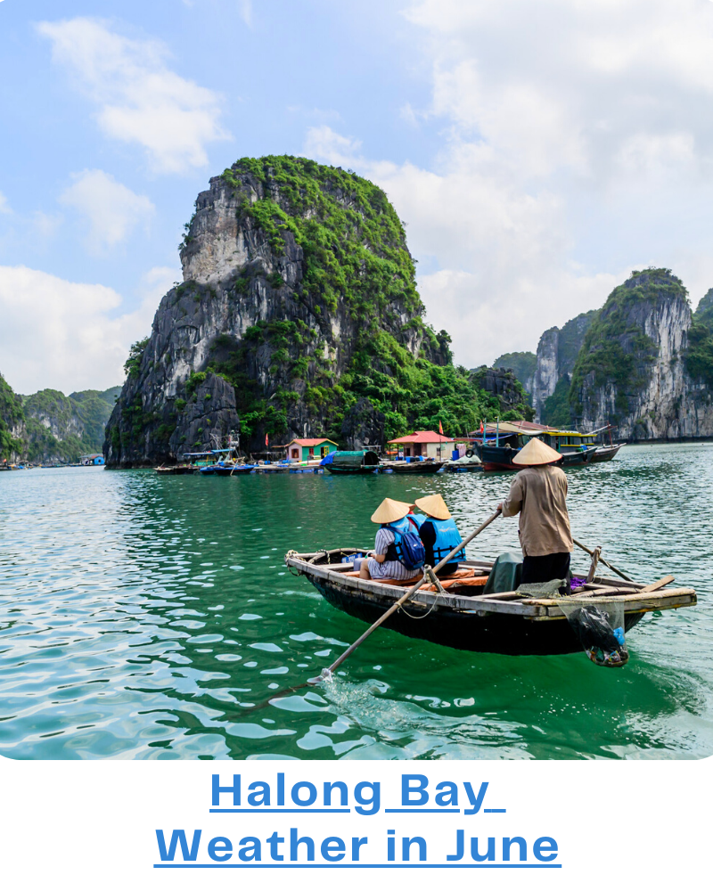 Halong Bay weather June