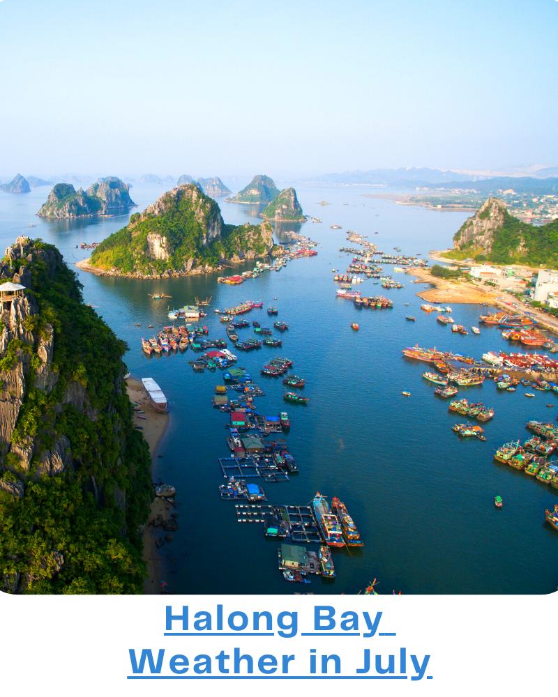Halong bay Weather July