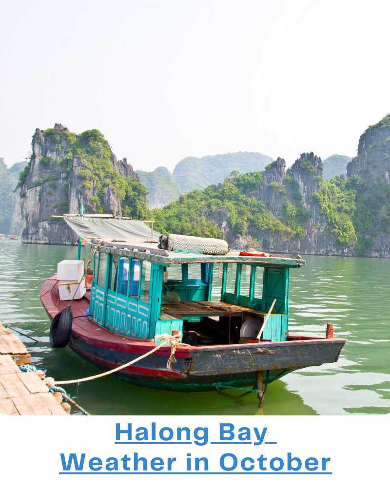 Halong Bay weather Oct