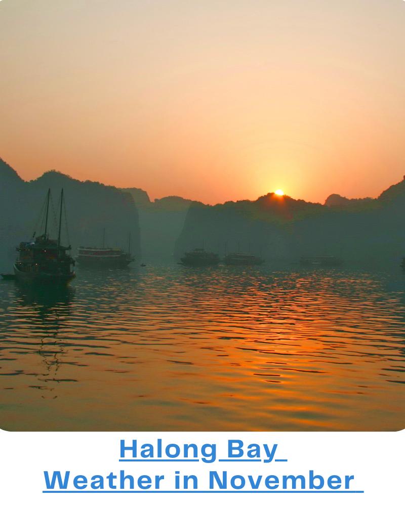 Halong Bay weather November