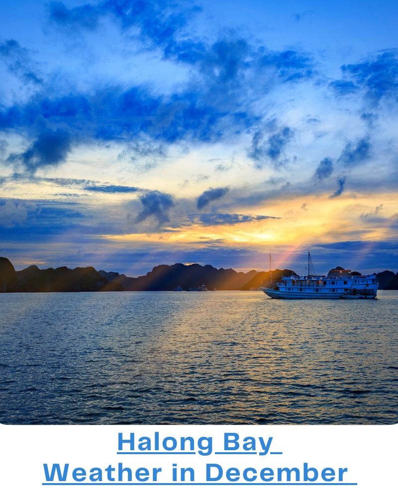 Halong Bay weather December