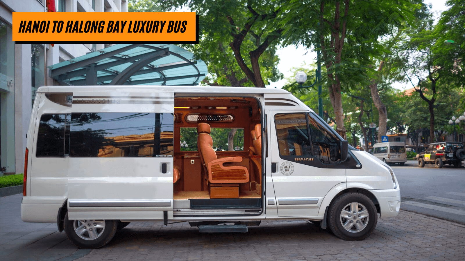 Hanoi to Halong Bay luxury bus