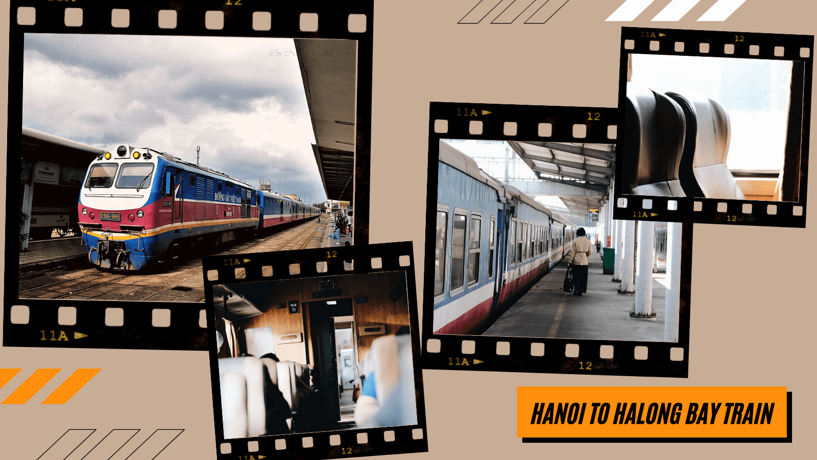 Travel Hanoi to Halong by train