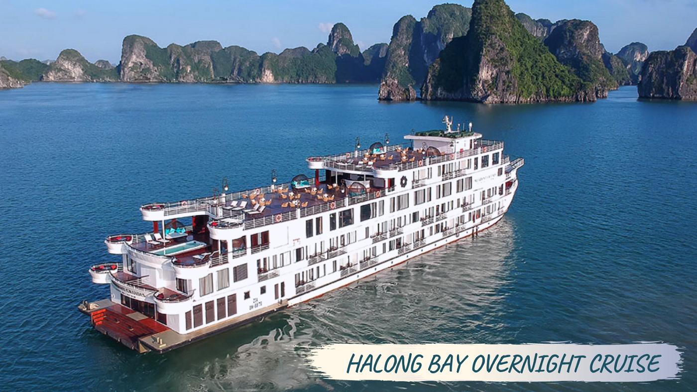 Overnight Halong Bay tour