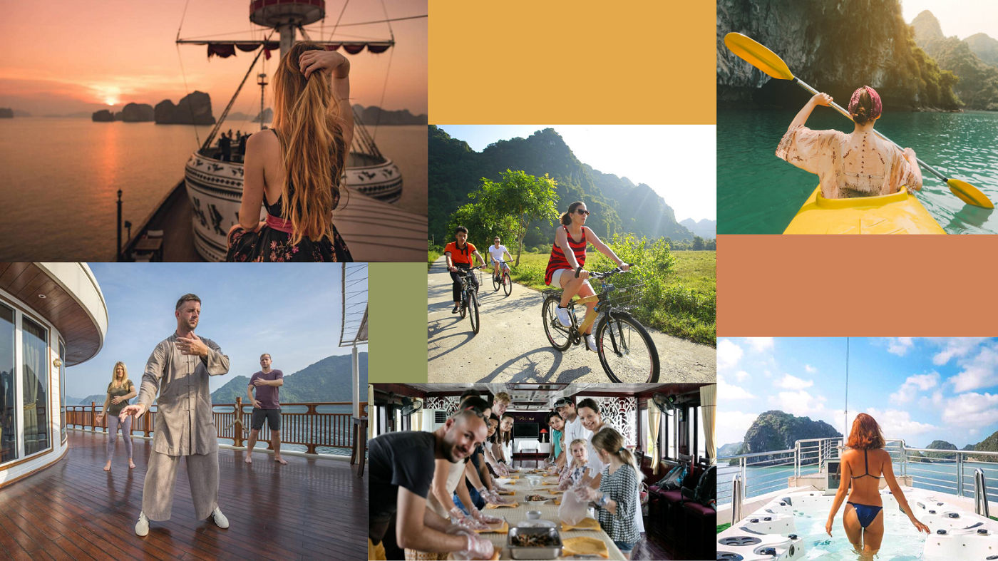 Things to do on Halong Bay overnight tour