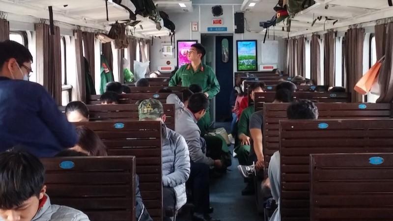 Hard-seat of Hanoi - Halong Bay train