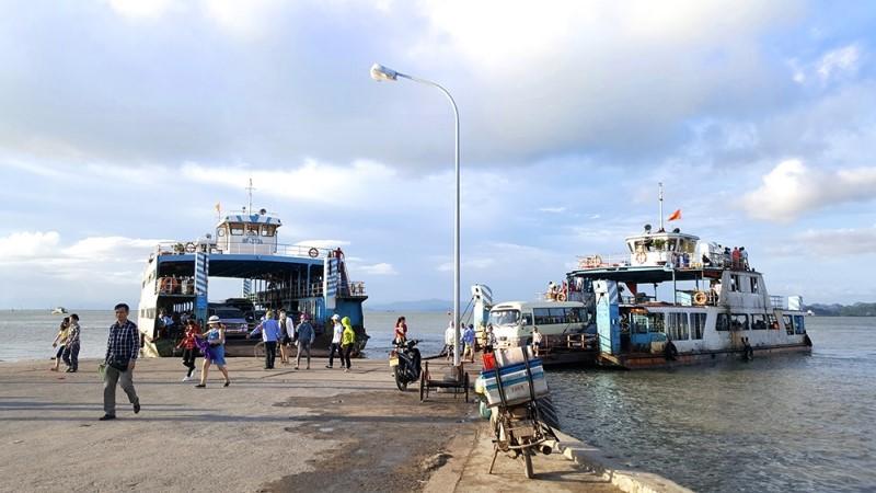 Got pier - The terminal of Halong Bay cruises from Hai Phong