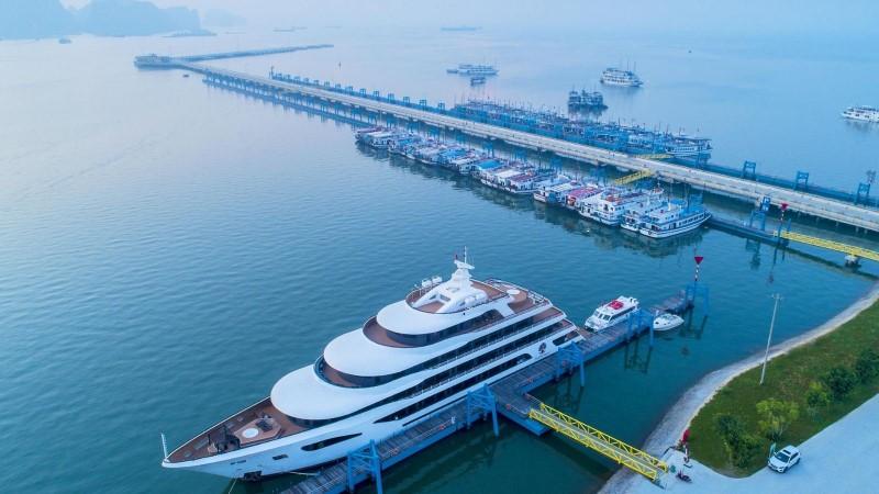 Halong International Cruise Port - The newest Halong Bay port