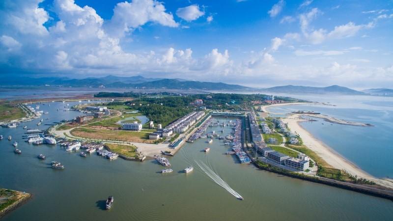 Tuan Chau harbor - The largest Halong Bay cruise port