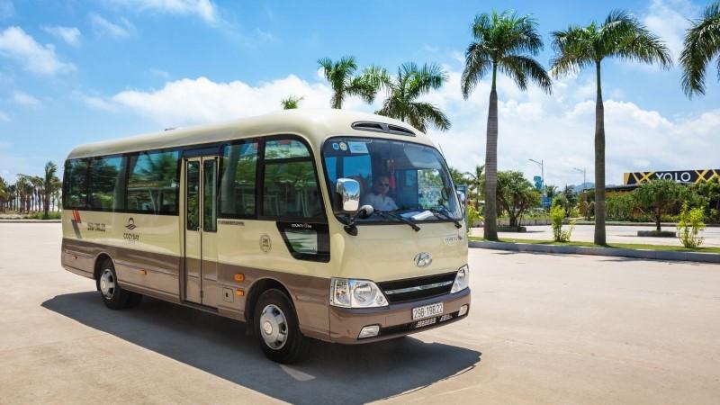 Hanoi to Halong Bay bus