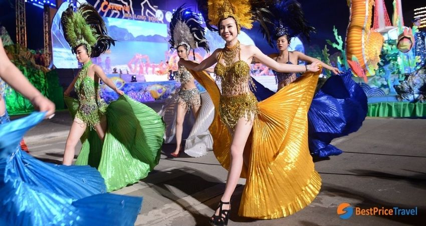 Best time to visit Halong Bay by event - Carnaval Ha Long Festival