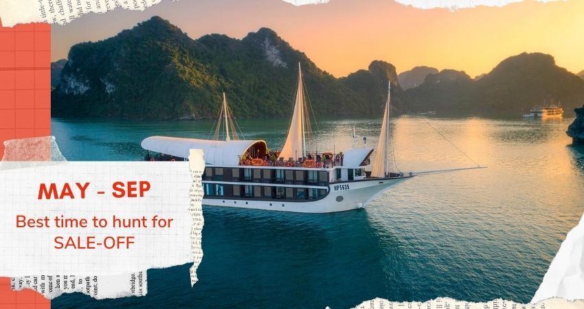 best time to get cruise deal in Halong