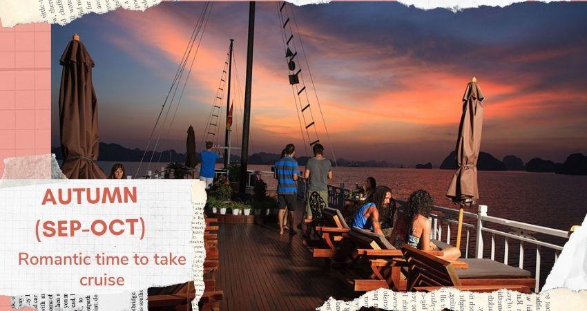 Perfect time to take Halong Bay Cruise