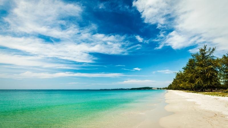 Relax at Cambodia Beach