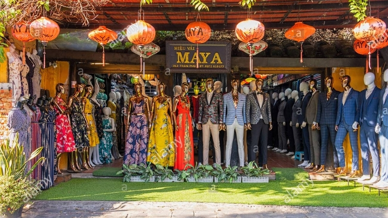 Clothes made in Hoi An