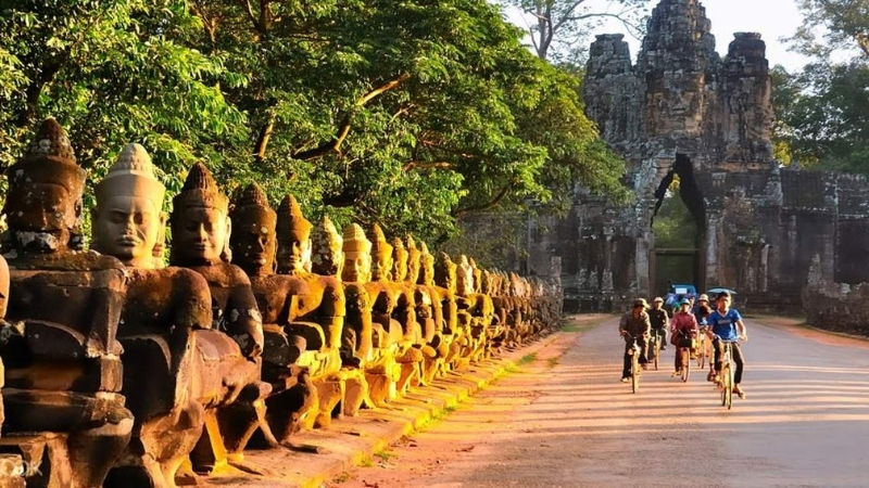 Cycling through South Gate - Vietnam and Cambodia Itinerary