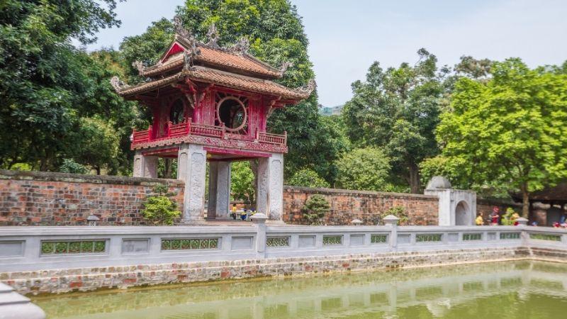 Hanoi Temple of Literature - Vietnam cambodia itinerary