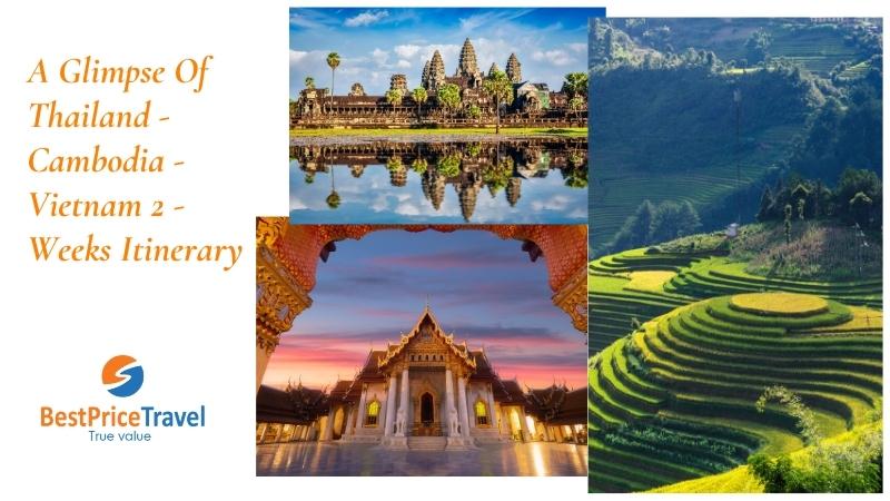 Thailand Cambodida Vietnam 2 weeks itinerary