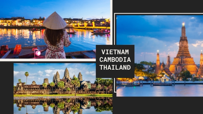 Thailand Cambodia Vietnam