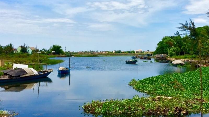 Take a boat tour to Cam Kim Island