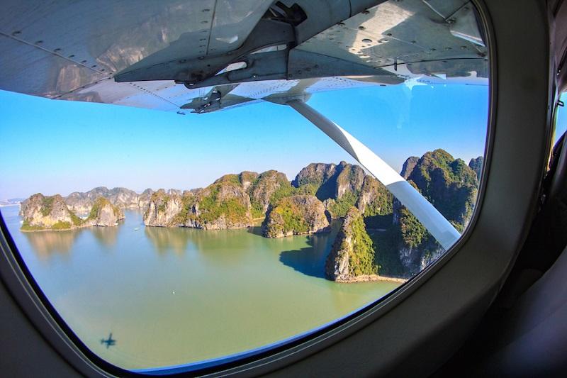 seaplane Halong Bay