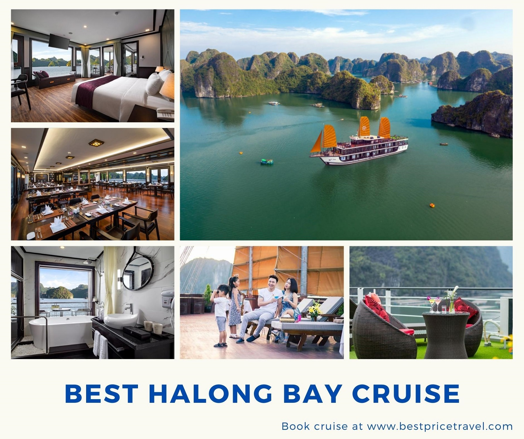 Best 4* Cruise in Halong Bay