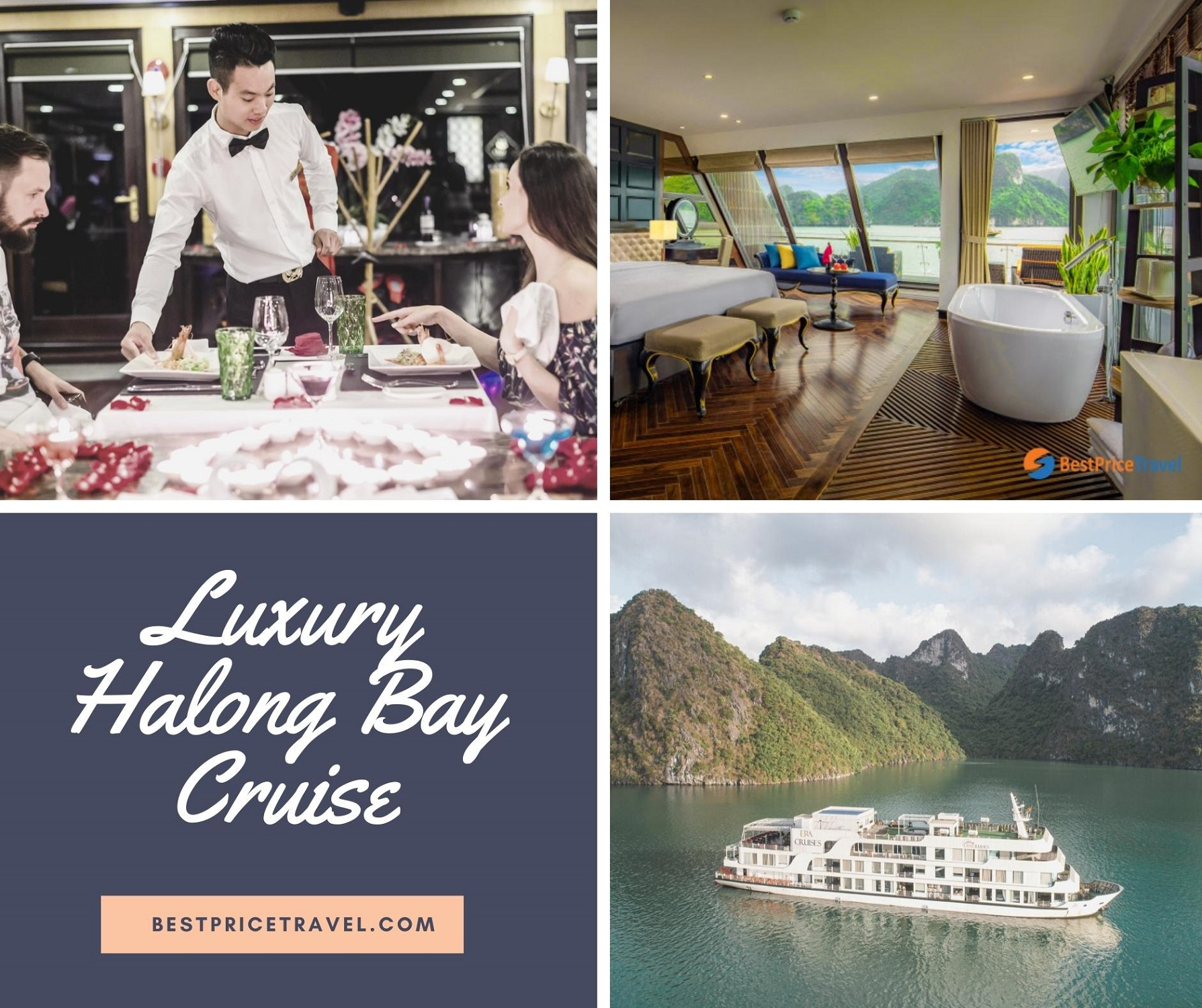 Enjoy Luxury services on Halong Cruise