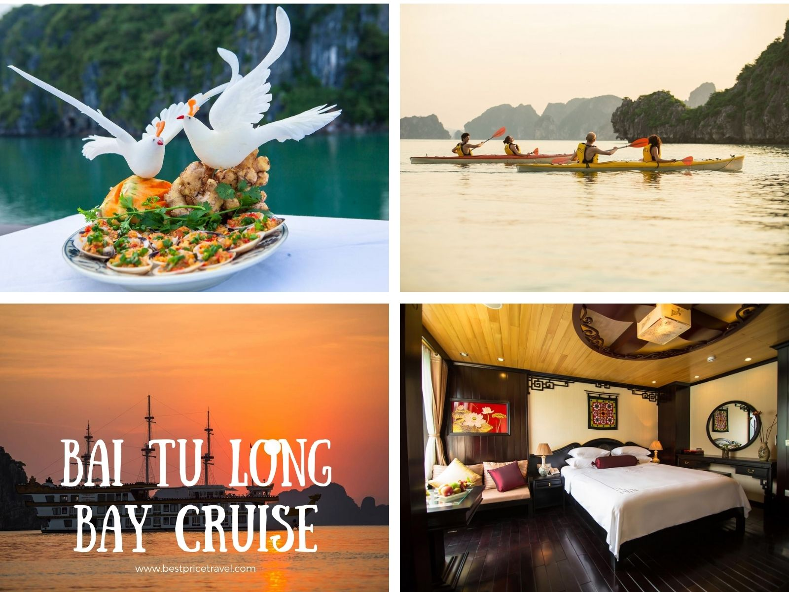 a Best Bai Tu Long Bay Cruise